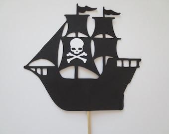 Pirate Ship Cake Topper - Centerpiece