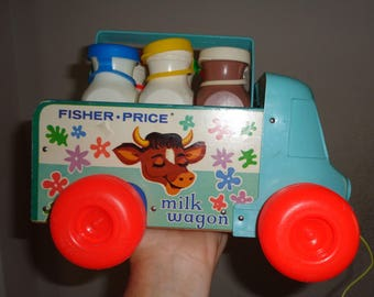 vintage fisher price pull toys