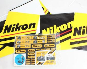 Nikon Sticker Set & Banner//Logo Stickers