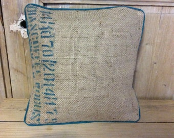 Cushion jute and fabric