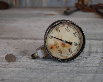 antique pressure gauge steampunk