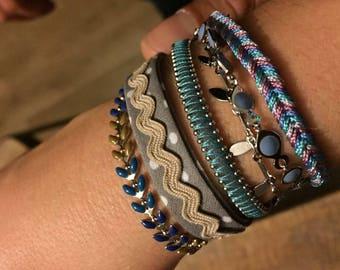 Bracelet wide summer and winter!