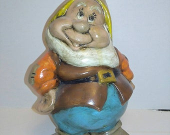 Happy inspired Statue from Snow White and the Seven Dwarfs