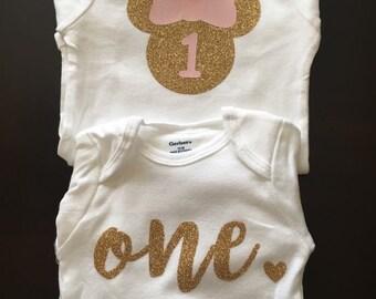 Baby's first birthday onesie