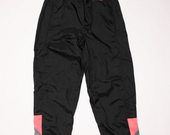 Nike Windbreaker Neon Pink & Gray Swishy Pants