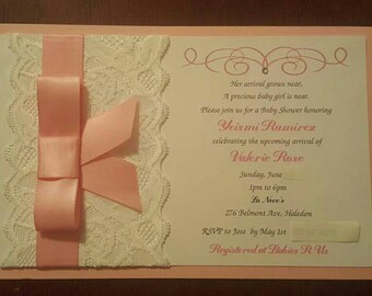 Lace invitations ... 40 per every 20 ... can be change to any occasion