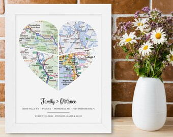 Unique Mom Gifts for Mom Personalized Birthday Valentine Day Christmas Mothers Day Anniversary Wedding Custom Housewarming Rustic Home Decor