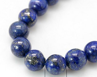 8 inch strand 4mm Natural Lapis Lazuli Beads(45 beads)-OFF50
