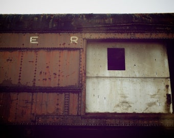 Hers, Train Artwork, Train Art Photography Print For Her