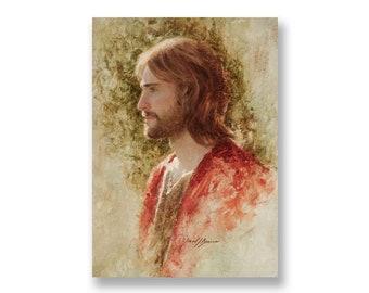 "Jesus Christ Art Print ""The Prince of Peace"" by Artist Jared Barnes"