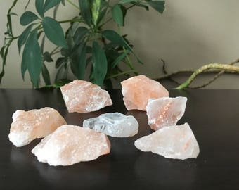 Pink Himalayan Salt - Pink Himalayan Salt Rock - Pink Himalayan Salt Crystals