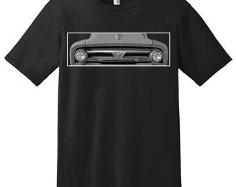 Ford F100 Truck C10 C20 Shirt, Pick-up Shirt, Truck Enthusiast, Car Design T-shirt, Classic Truck Gift for Men, American Automobilia
