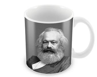 Karl Marx  Ceramic Coffee Mug    Free Personalisation