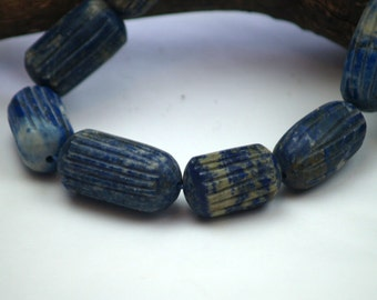 Antique lapis lazuli, hand carved from Afghanistan
