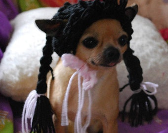 Pigtail Wig for Dog or Cat