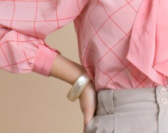 Vintage 60s Lucite Bangle Bracelet