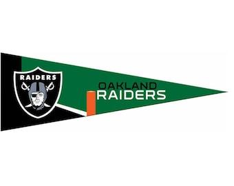 """Oakland Raiders NFL kleine Wimpel, 5 """"x 15"""""""