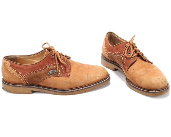 CAMEL 43 In Fit SUEDE 9 Uk Eur Lace Made Gift Derby Shoe Comfortable Shoes BROWN 5 Up Wide 80s 5 Oxford Italy Us Men Leather Men 9 IqgwZ6R