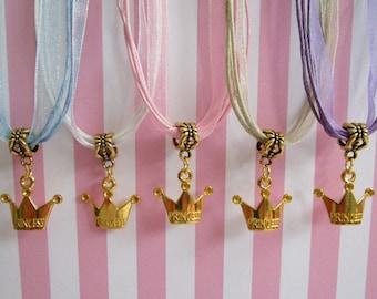 Princess Necklaces, Princess Party Favor Necklaces, Princess Party Favors, Princess Party, Necklaces, Childrens Necklaces, Princess Favors