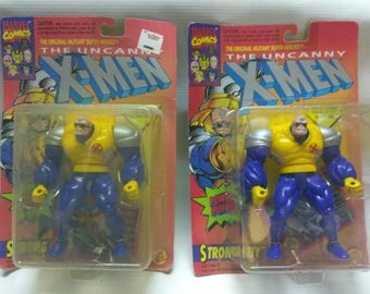 Vintage X-Men figure TOY BIZ (strong guy)