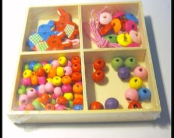 90x90x16mm Jewellrey Box Set - adorable DIY for children