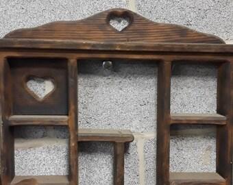 Unique Wood Decor (hearts)
