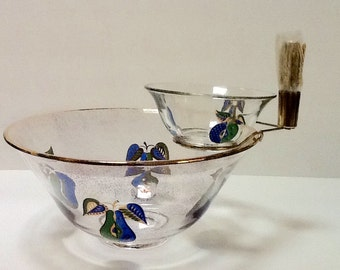 Vintage Georges Briard Dip Set / 1960's / Signed / Collectible / Entertaining / Serving /  Retro / Mid Century /
