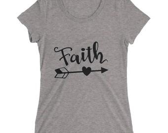 Gift idea, Faith T-Shirt, Fall Shirts, Ladies Fall Shirt, Trendy Shirts, women Graphic Tee, Faith Shirt, Fall Tee, Fall T-Shirt, Faith Tee