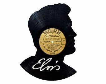 Elvis Vinyl Record Art