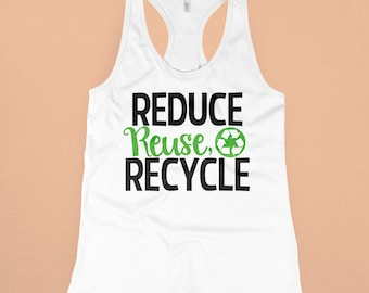 Reduce, Reuse, Recycle Svg, Earth Day SVG, DXF, EPS, png Files for Cutting Machines Cameo or Cricut - Recycle Svg, Earth Svg, Planet Svg