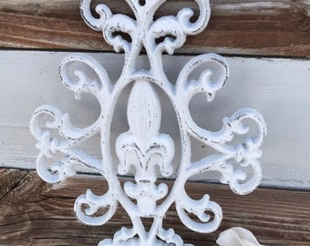 ON SALE, SPRING Sale Wall Decor /  Fleur De Lis Wall Decor / Wall Decor / Metal Wall Decor