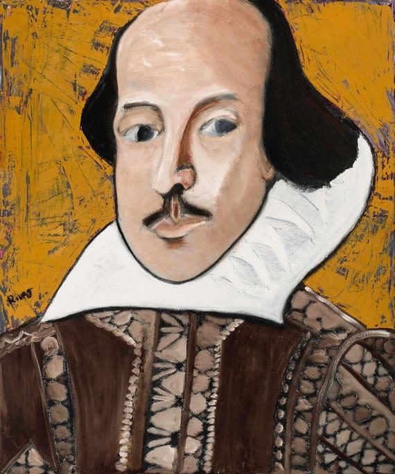 William Shakespeare--10x12 Hand-Numbered