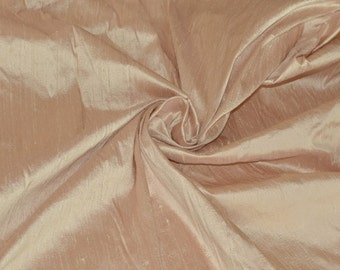 Silk Dupioni in Tea Rose - Fat Quarter -D 293
