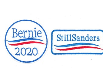Bernie 2020 - Still Sanders Iron-on or Sew-on Patches