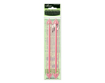 Clover Double Ended Stitch Holders Size Jumbo Part No. 3007