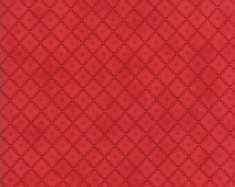 Farmhouse Reds by Minick and Simpson 14857 21 by Moda Fabric - 1 yard