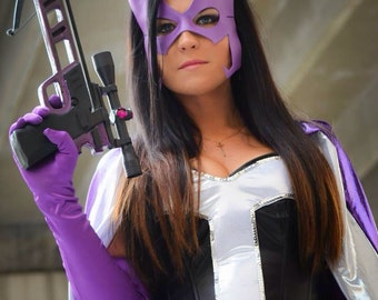 Huntress Inspired Superhero Mask