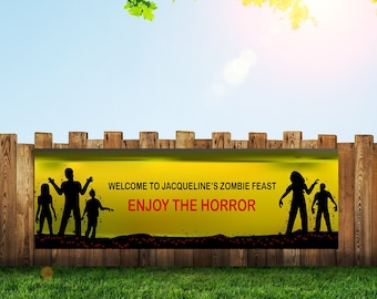 Plants Vs Zombies, Zombie Party, Zombie,Banner, Zombies