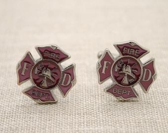 Very Fireman cufflinks | Etsy IY57