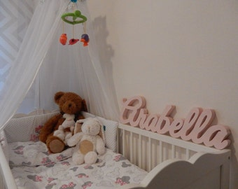 BIG Freestanding custom wooden names / home decorations / nursery decorations / kids room / babys room