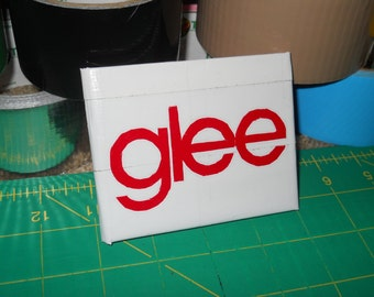 Red, White, and Black Glee Duct Tape Wallet