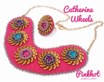 Catherine Wheels PDF Pattern