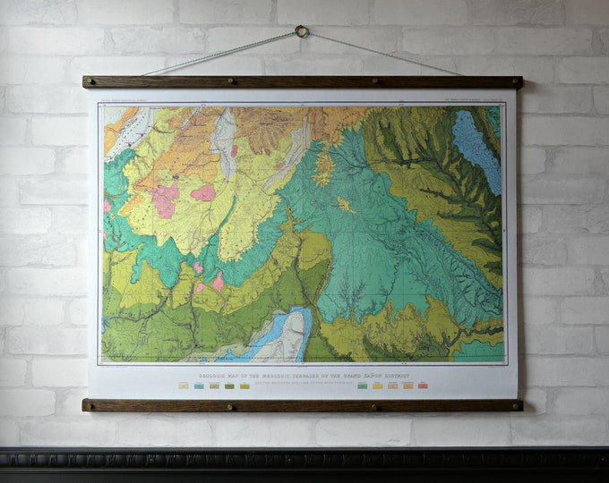 Grand Canyon Geological Chart
