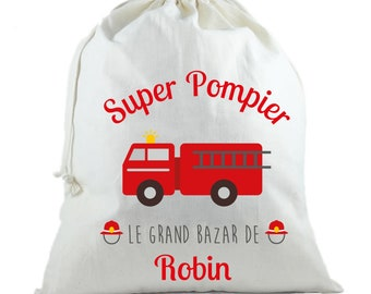 Grand Bazaar fireman - personalized bag