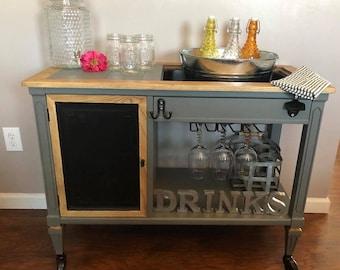 Indoor/outdoor Beverage Cart