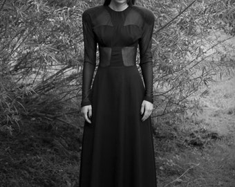 Cut Outs Gothic Dress