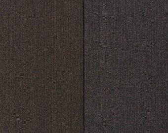 HERRINGBONE wool blend tweed