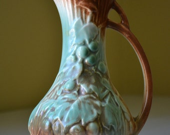 McCoy Grape Pitcher Vase