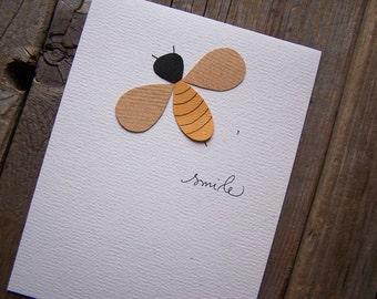 NEW! Bee Happy Notecard