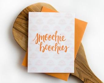 Smoochie Boochies Greeting Card